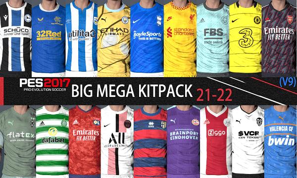 PES 2017 Big Mega Kitpack Season 2021-22