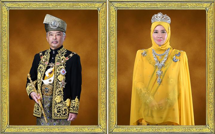 Biodata DYMM Yang di-Pertuan Agong dan Raja Permaisuri Agong 16