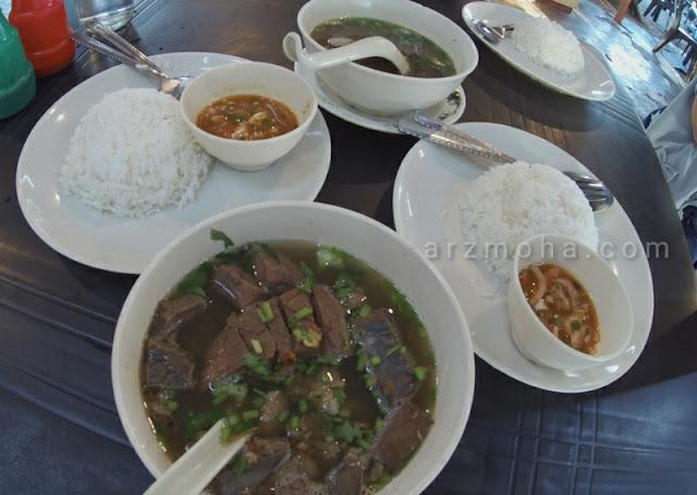 makan sup di sungai petani, tempat makan sup di tikam batu sungai petani, along marvelous bihun sup, air ranggi tikam batu,