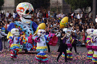 day of the dead festival mexico