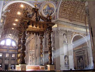 Il Baldacchino della Basilica di S.Pietro
