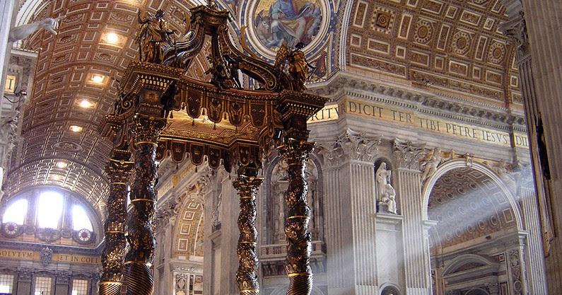 I misteriosi oggetti fusi nella Basilica di San Pietro (prima parte)
