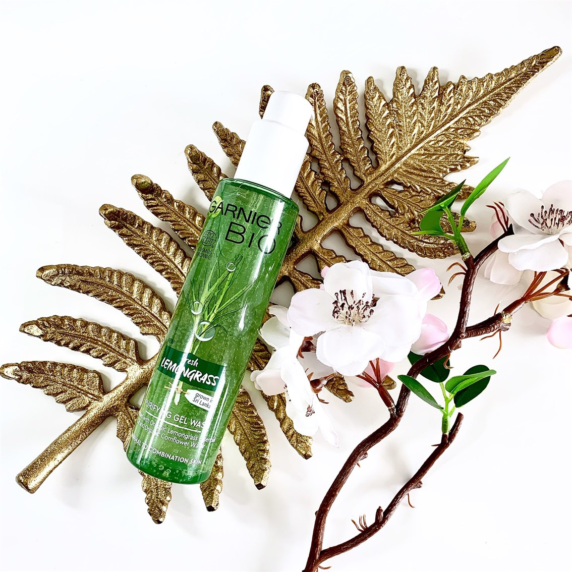 Garnier BIO Lemongrass żel oczyszczający opinie