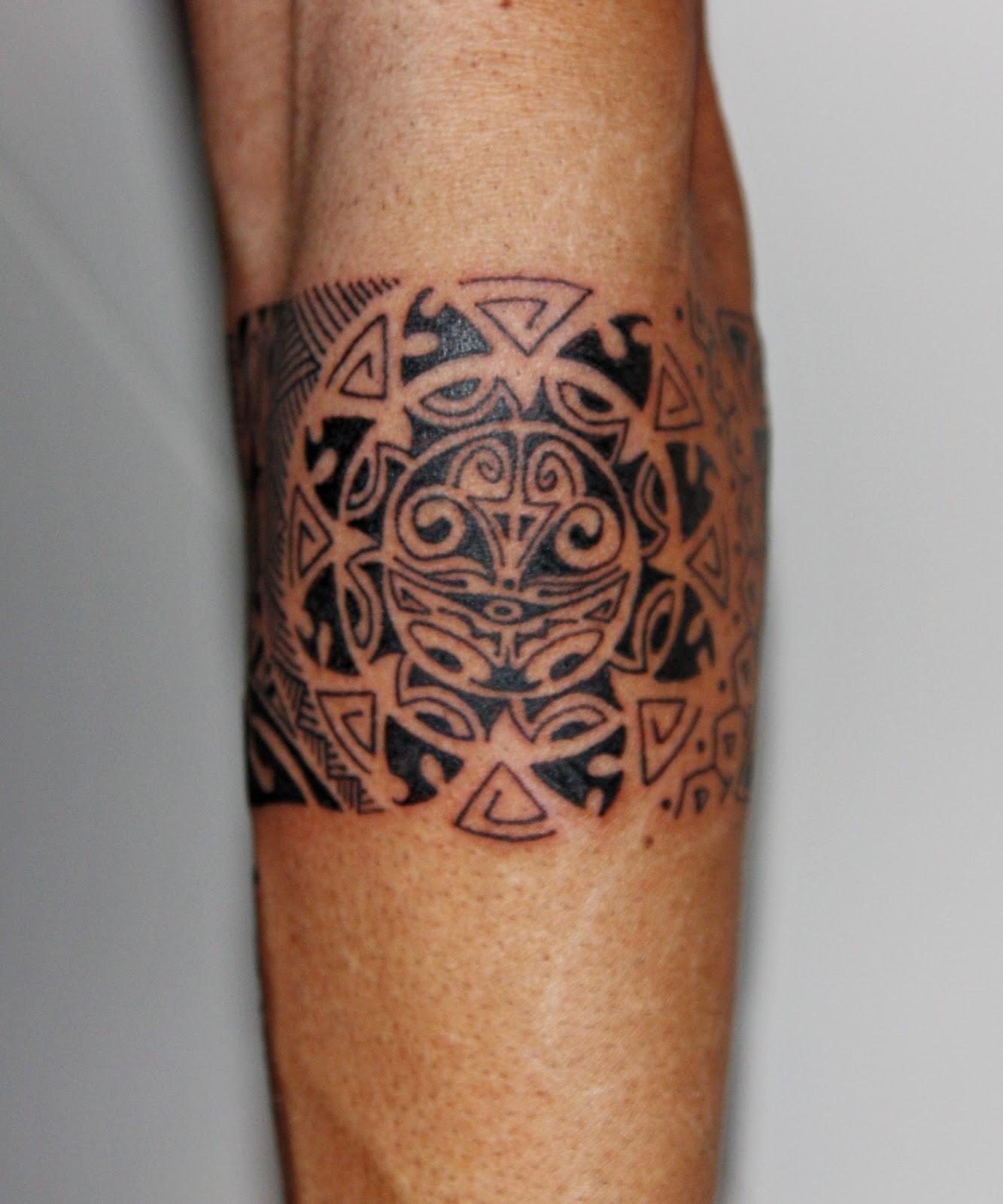Brazalete Maori Luna Y Sol Y Frase Coral Rodriguez Tattoo - Maori-tattoo-brazalete