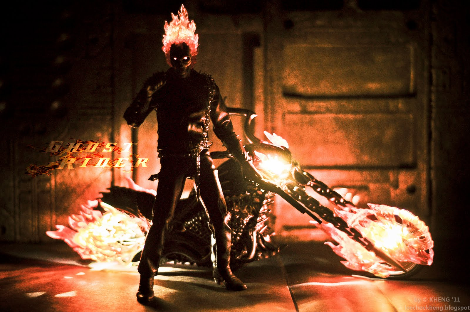 My Hot Toys Collection Photography Hot Toys Ghost Rider With