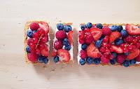 Recette de tarte pannacotta aux fruits rouges