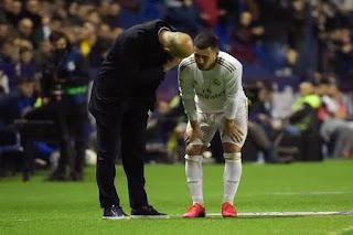 Eden Hazard set to miss Man City clash due to ankle discomfort