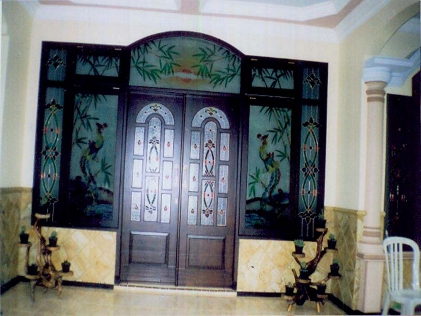 pintu kupu tarung variasi kaca 4 4