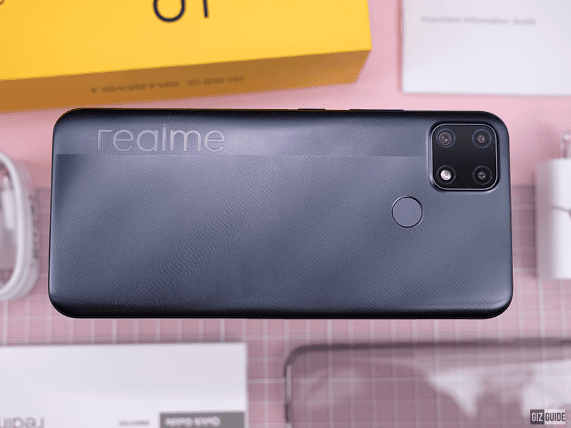 realme C25s Unboxing, First Impressions, and Camera Samples