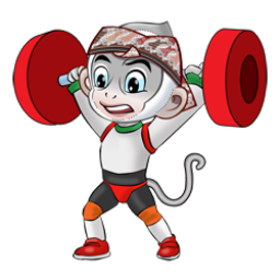 Logo dan Lambang Cabang Olahraga PON Jabar 2016 Angkat Besi