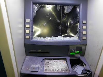 Εξερράγη μηχάνημα ανάληψης χρημάτων τα ξημερώματα