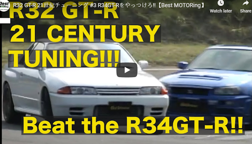 Best Motoring R32 GT-R vs R34 GT-R