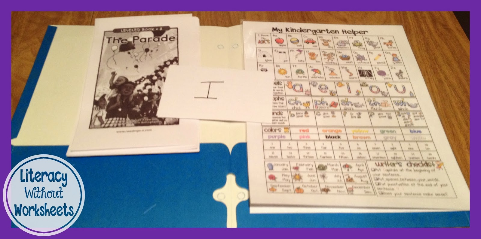 Back To School 10 Cent Folders For Guided Reading