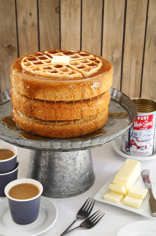 Birthday Cake Waffle Recipe