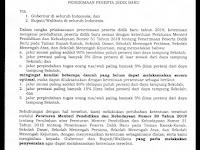 Kisruh PPDB 2019: Akhirnya Permendikbud No 51 Tahun 2018 Tentang PPDB SD, SMP, SMU di Perbarui Sebagai Berikut