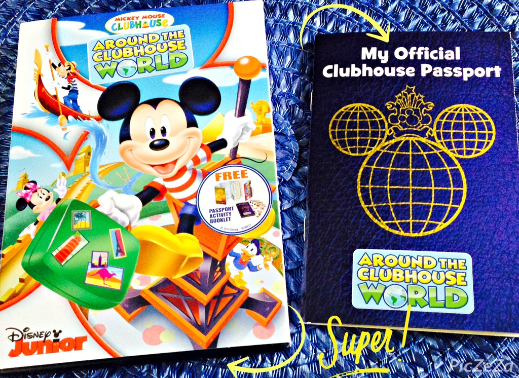 Mickey Mouse Clubhouse : Around The Clubhouse World (2014 ...