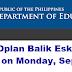 2021 Oplan Balik Eskwela starts on Sept. 6