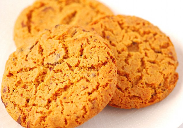 Orange Gingernut Biscuits