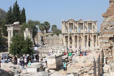 Ephesus Kota Yunani Kuno Di Provinsi Izmir Turki