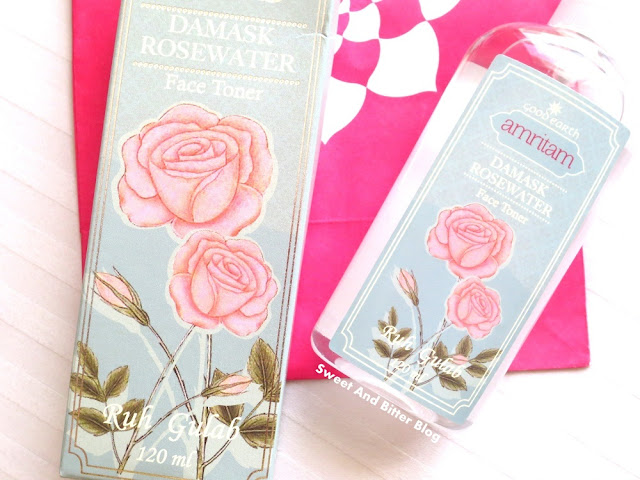 Good Earth Amritam Damask Rosewater Face Toner Review