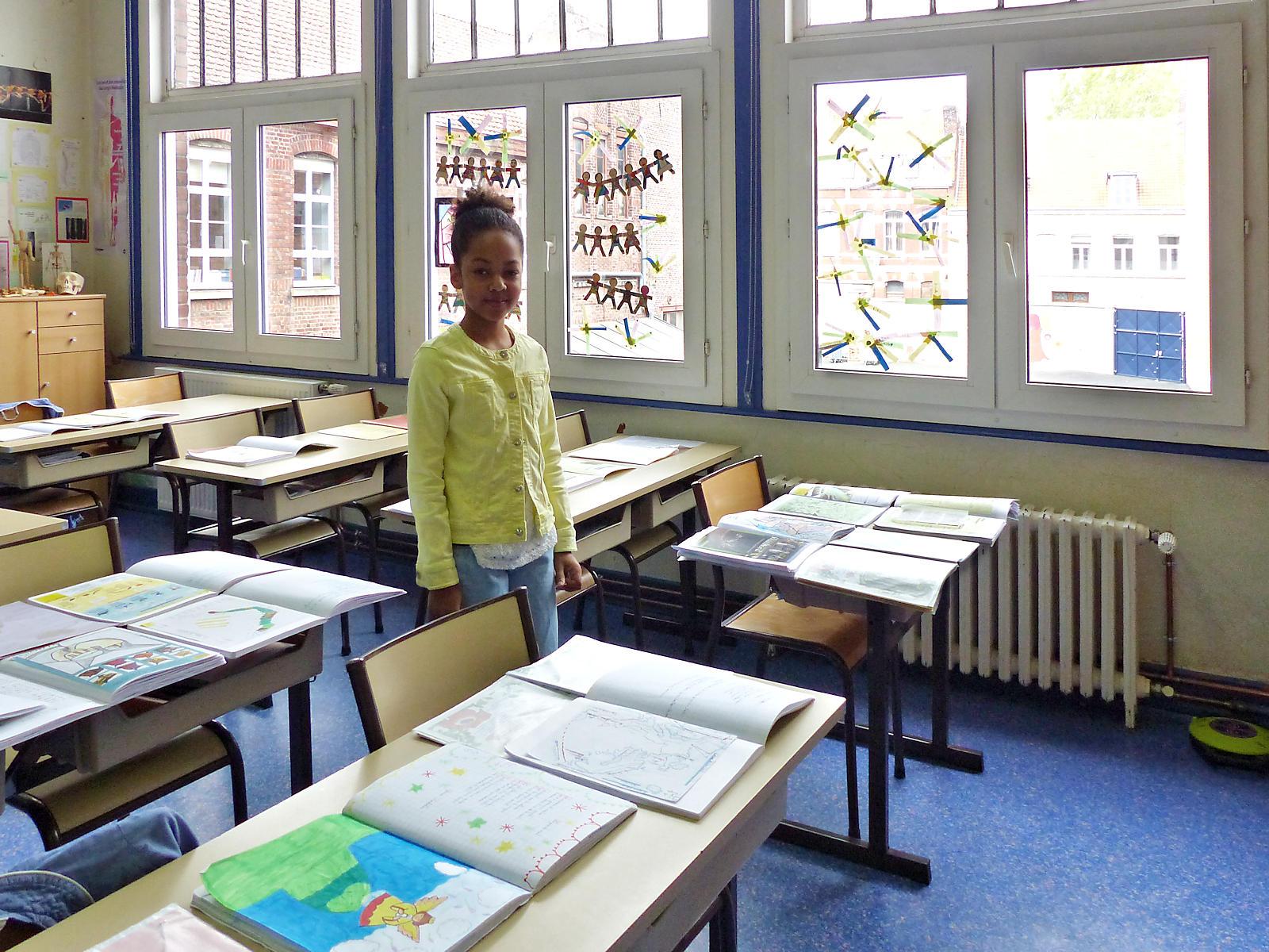 École primaire CNDI, Tourcoing - Salle de classe