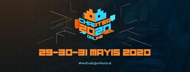 Türkiye'nin Oyun ve Gençlik Festivali Chapter, Evinize Geliyor