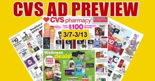 CVS Ad Scan 3/7 to 3/13