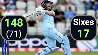 Eoin Morgan 148 with World Record 17 Sixes Highlights