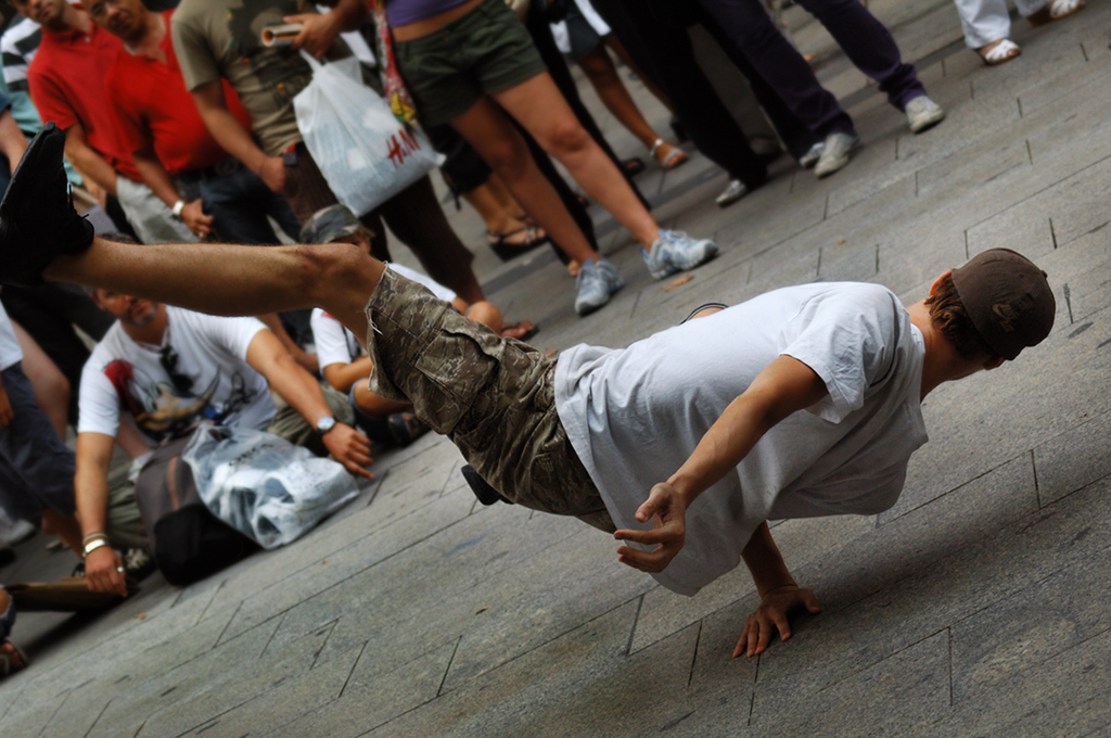 Urban Street Dance in Barcelona