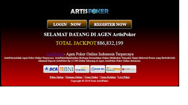 Artispoker - Situs daftar Link Alternatif Artispoker terpercaya