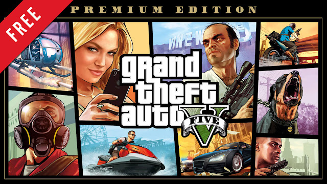 gta 5 grand theft auto v premium edition free pc game epic games store 2013 crime action-adventure rockstar games