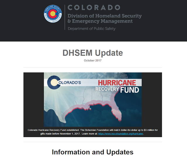 image of the DHSEM Newsletter