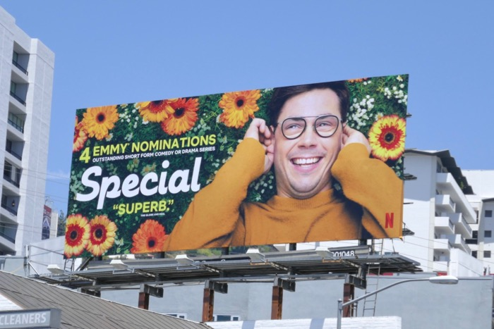 Special season 1 Emmy nominee billboard