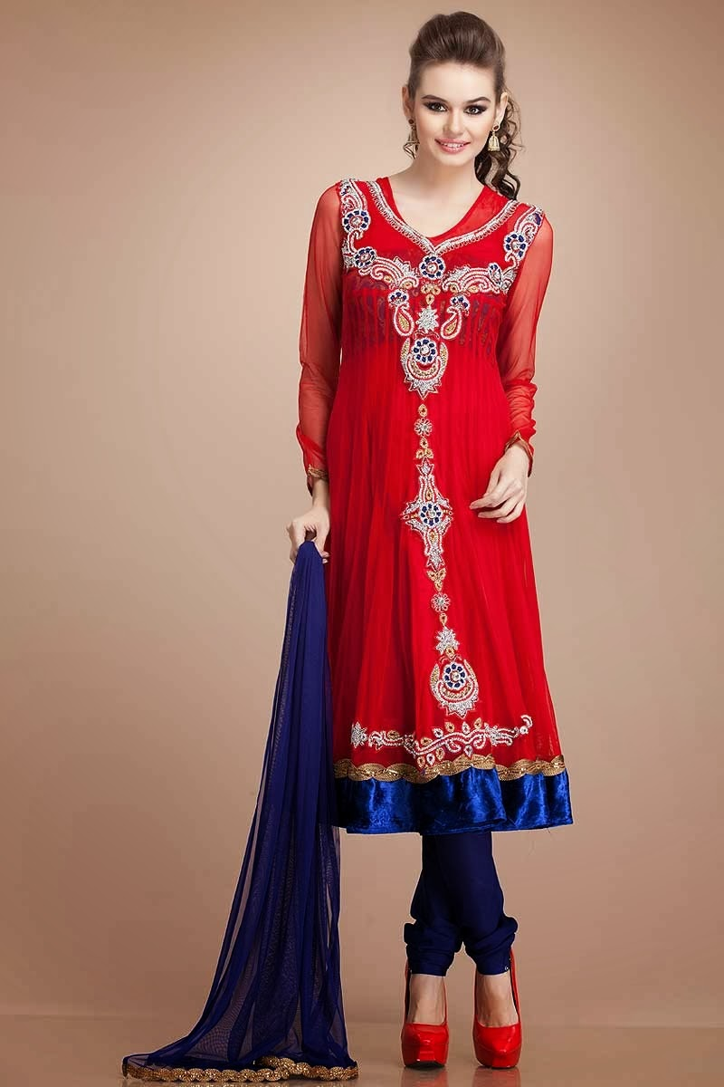 Latest Eid Party Wear Fashion In Pakistan