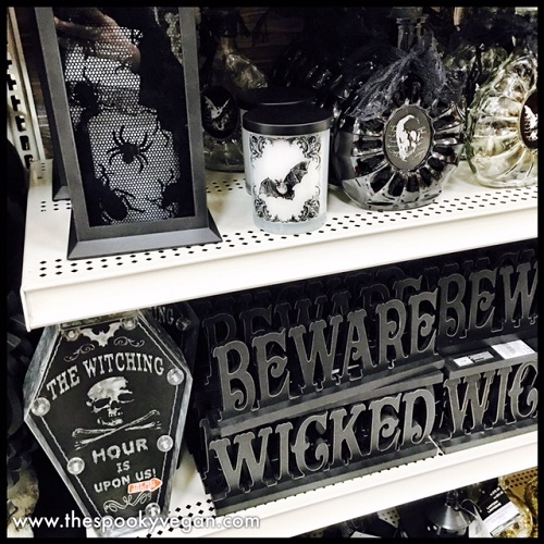 more elegant goth decor - Halloween Decorations Michaels