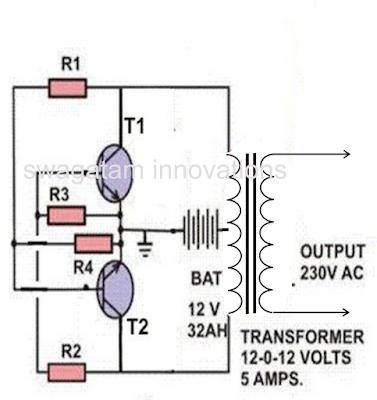 simple cross coupled inverter circuit