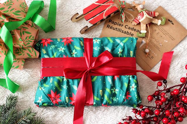 zéro déchet : le papier cadeau réutilisable Carédeau, les petites bulles de ma vie