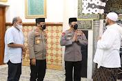 Silahturahmi Ke Ulama, Kapolri dan Habib Syech Bahas Soal Ini