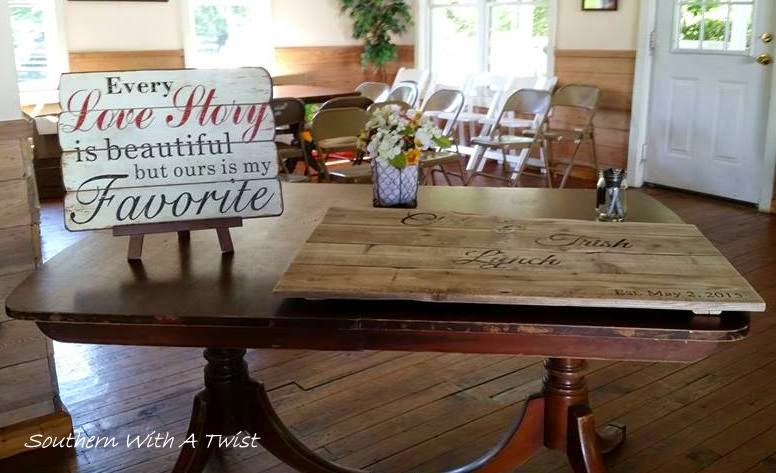 Southern With A Twist Lynch Wedding Reception Farm To Table Style - Farm to table near me