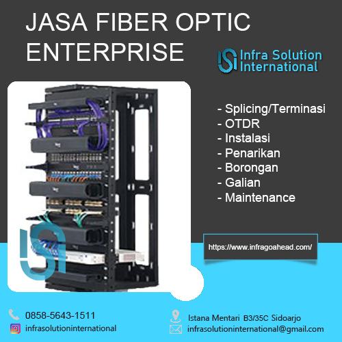 Jasa Splicing Fiber Optic Tulungagung Enterprise