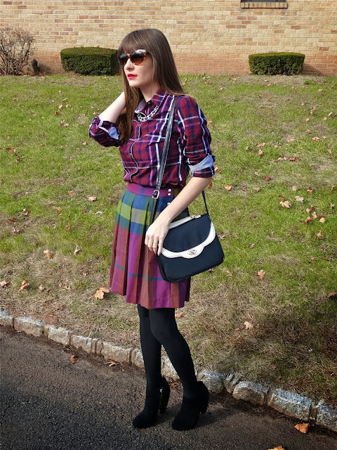 how to style plaid | www.houseofjeffers.com