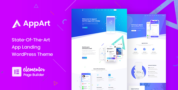 AppArt Creative WordPress Theme For Apps Saas