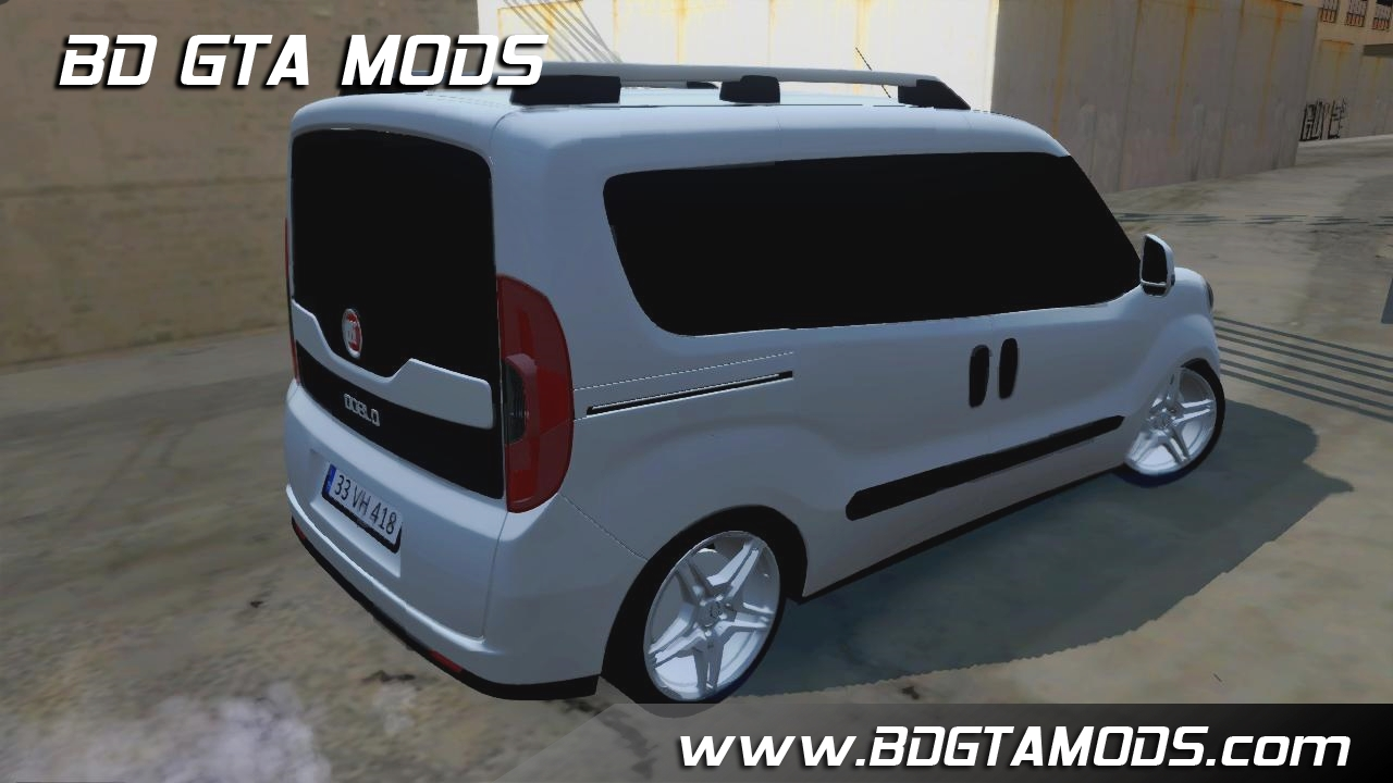 gta sa fiat doblo 2017. Black Bedroom Furniture Sets. Home Design Ideas