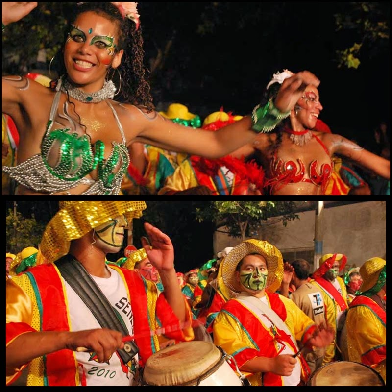 Carnaval. Desfile de Llamadas. Montevideo. Senegal. 2010.