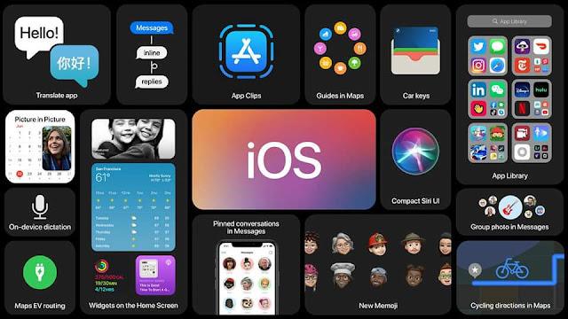#Apple_iOS_14 | تعرف على اهم مميزات #التحديث_الجديد بنظام iOS 14 #شركة_ابل