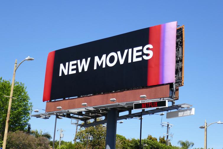 New Movies billboard