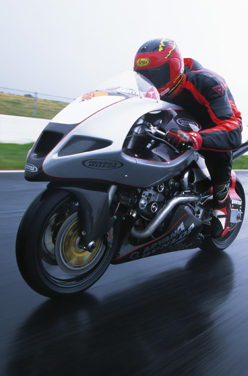 Hunwick Hallam X1R Motorbike