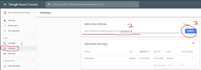 Submit Sitemap ke Google Webmaster Tools