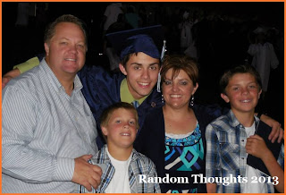 Elder Minson graduation with his family