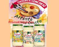 Logo Calvè '' Artisti del gusto'': crea la etichetta e vinci buoni spesa e un corso da 1000 euro